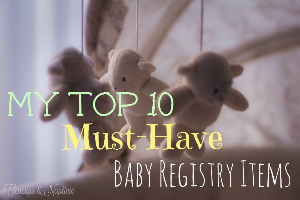 must-have baby registry items