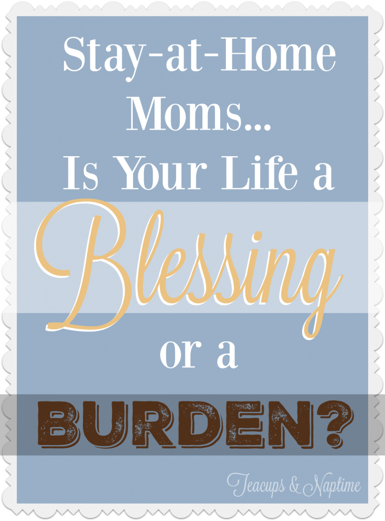 is your life a blessing or a burden